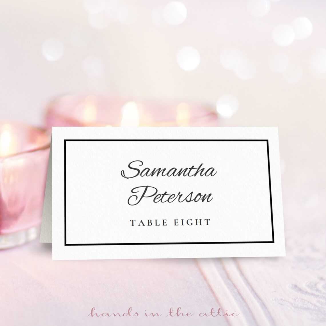 001 Free Place Card Template Excellent Ideas Tent Templates Pertaining To Free Place Card Templates 6 Per Page