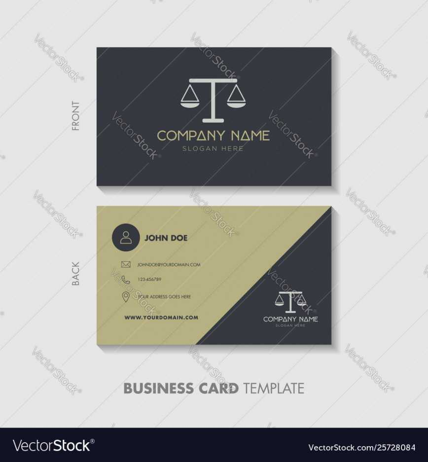 001 Lawyer Business Card Template Design Vector Cards Within Legal Business Cards Templates Free