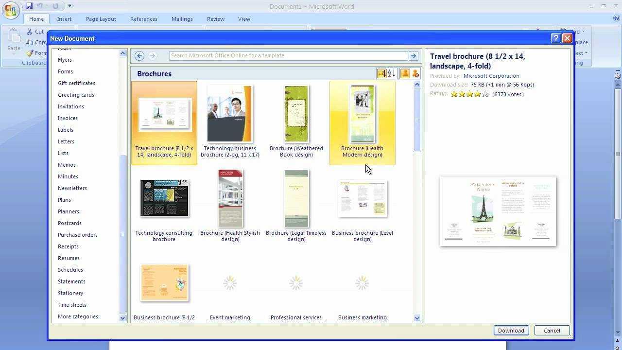 001 Maxresdefault Microsoft Word Brochure Template Regarding Brochure Template On Microsoft Word