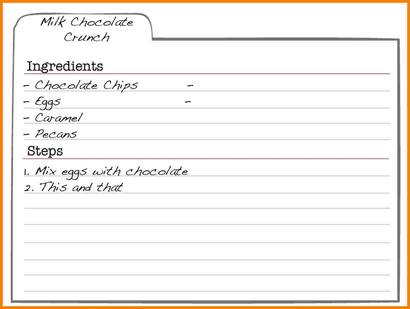 001 Recipe Template For Word Free Editable Card Templates With Microsoft Word Recipe Card Template