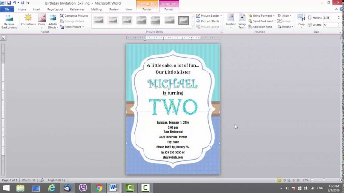 001 Template Ideas Microsoft Word Birthday Card Best Regarding Birthday Card Publisher Template