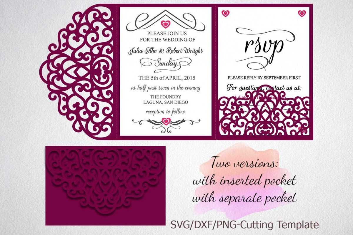 001 Tri Fold Invitations Template Excellent Ideas Cards ...
