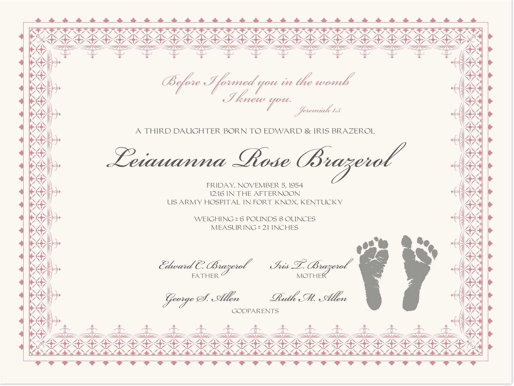 002 Baby Dedication Certificate Template Ideas Wonderful Pertaining To Christian Baptism Certificate Template
