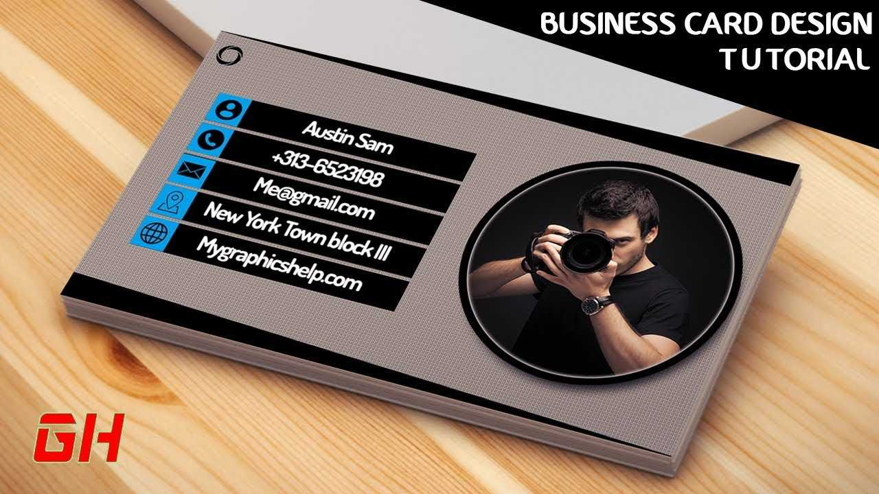 002 Photography Business Card Template Photoshop For Photography Business Card Template Photoshop