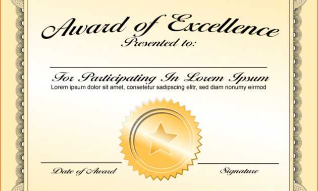 003 Award Certificate Template Word Free Download Ideas Of inside Award Certificate Template Powerpoint