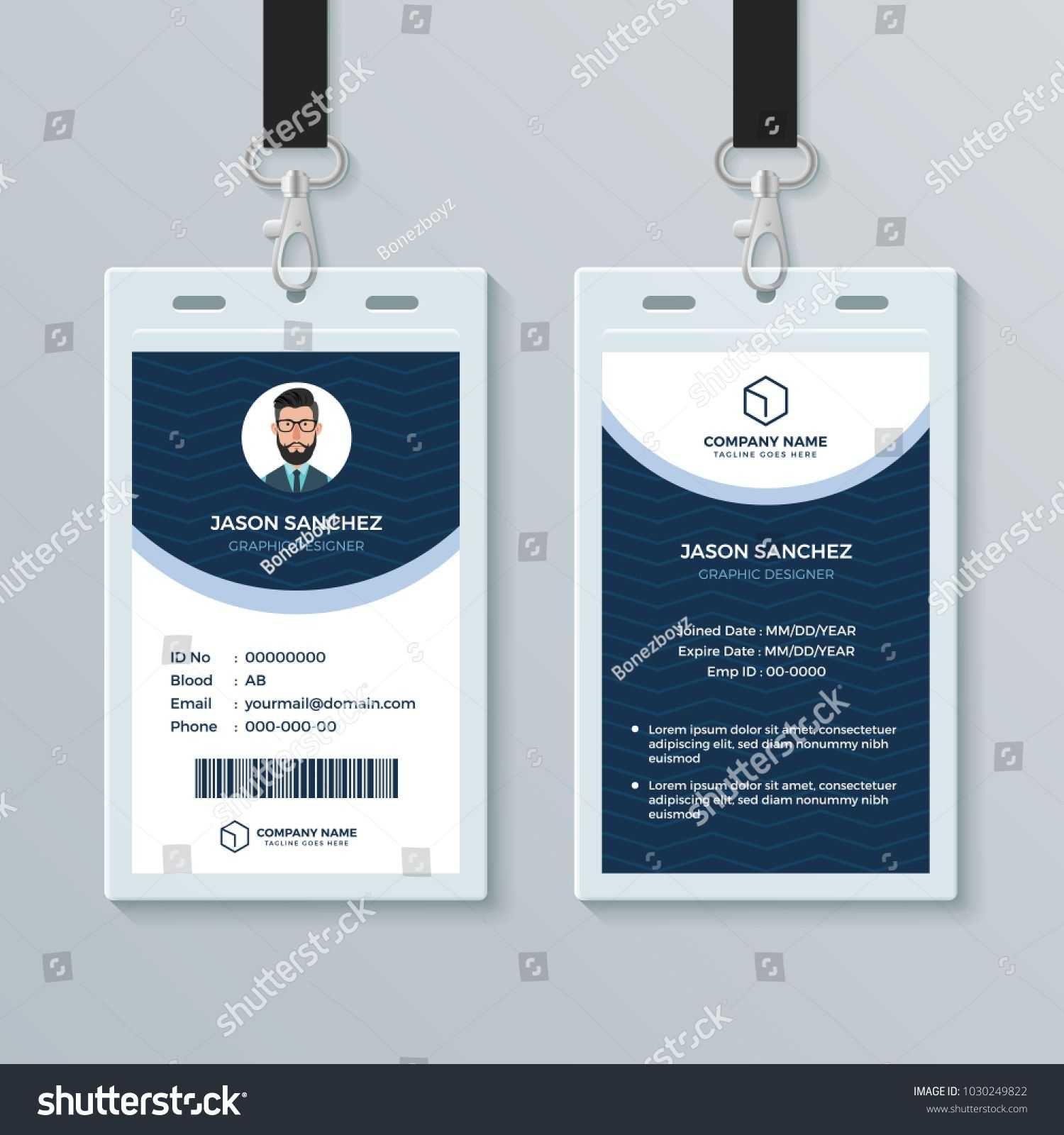 003 Free Id Card Template Fascinating Ideas Photoshop Intended For Free Id Card Template Word
