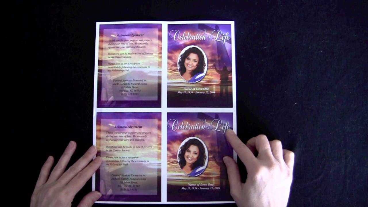 003 Funeral Memorial Cards With Regard To For Template Free With Regard To Memorial Cards For Funeral Template Free