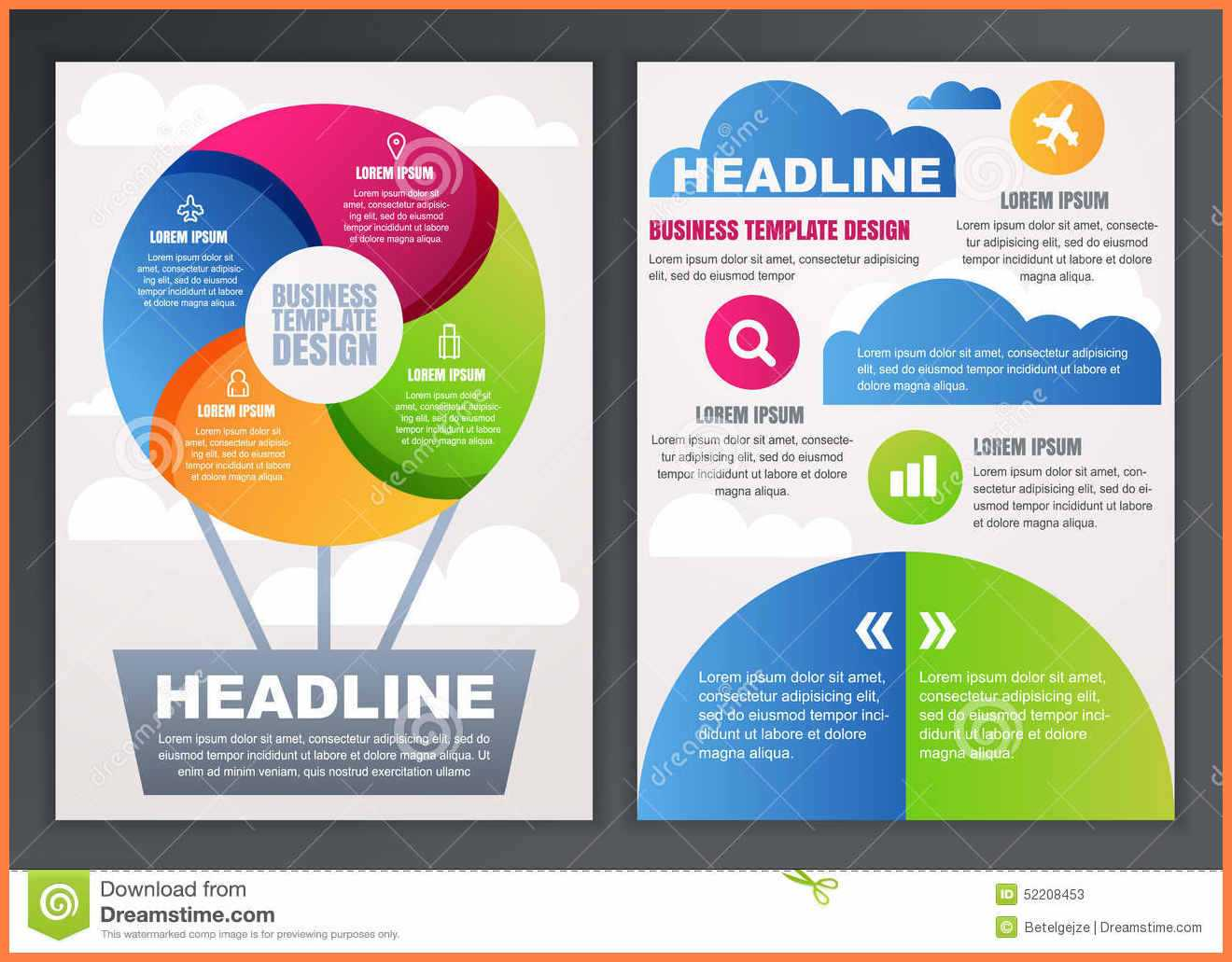 004 Free Brochures Templates Online Brochure Design Template Within Online Free Brochure Design Templates