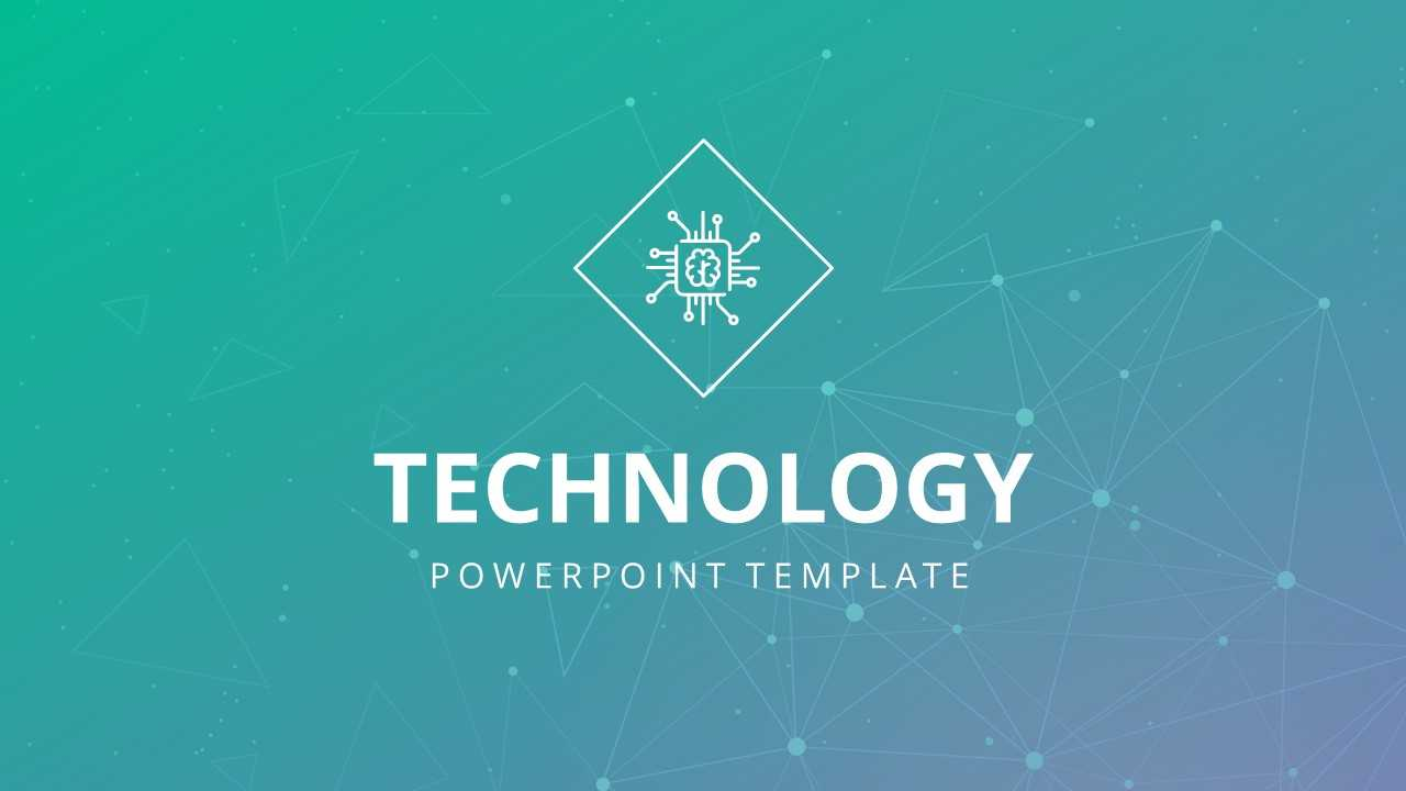 004 Technology Powerpoint Template 16X9 Free Templates Inside Powerpoint Templates For Technology Presentations
