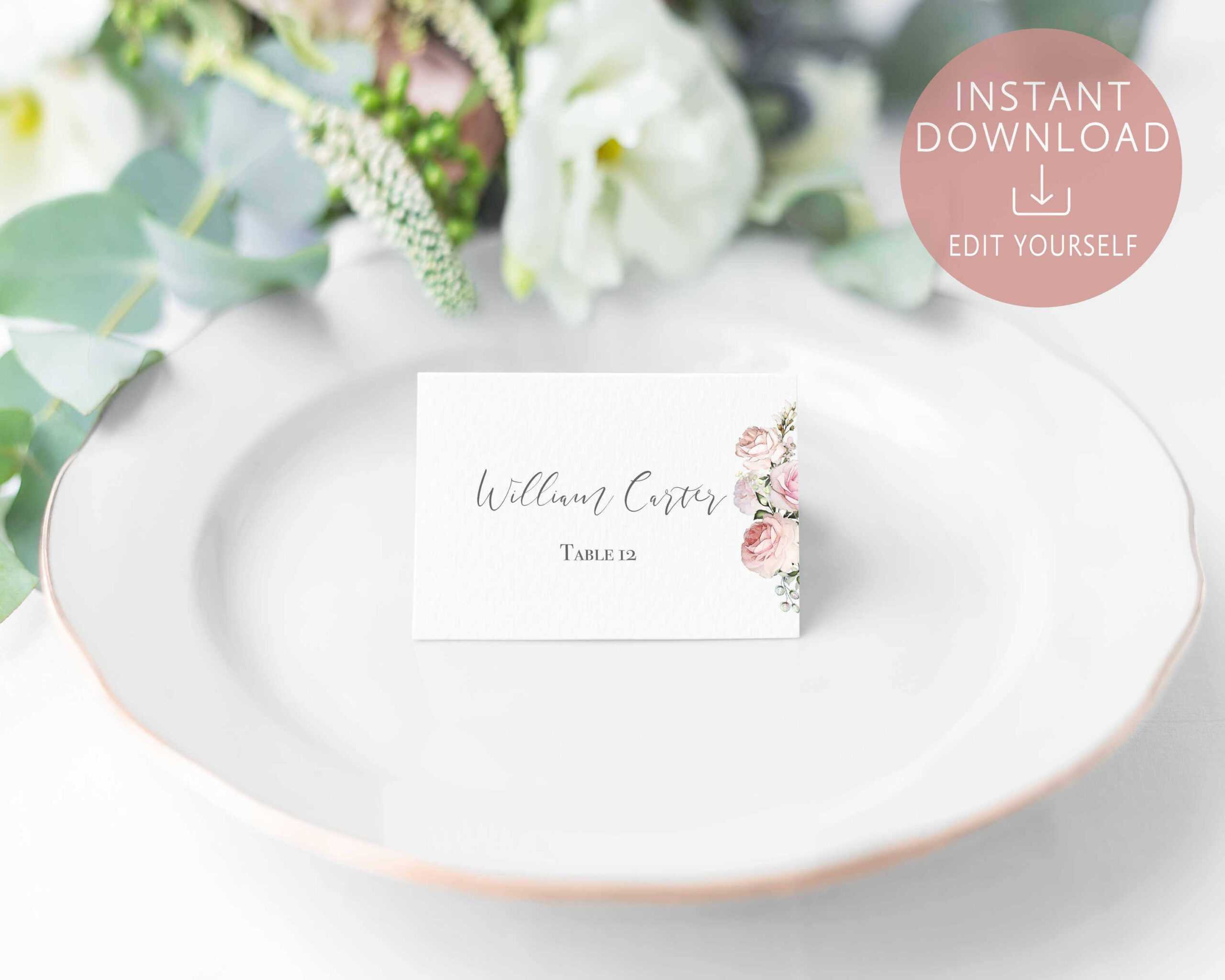 004 Template Ideas Name Place Cards Marvelous Card Free With Christmas Table Place Cards Template