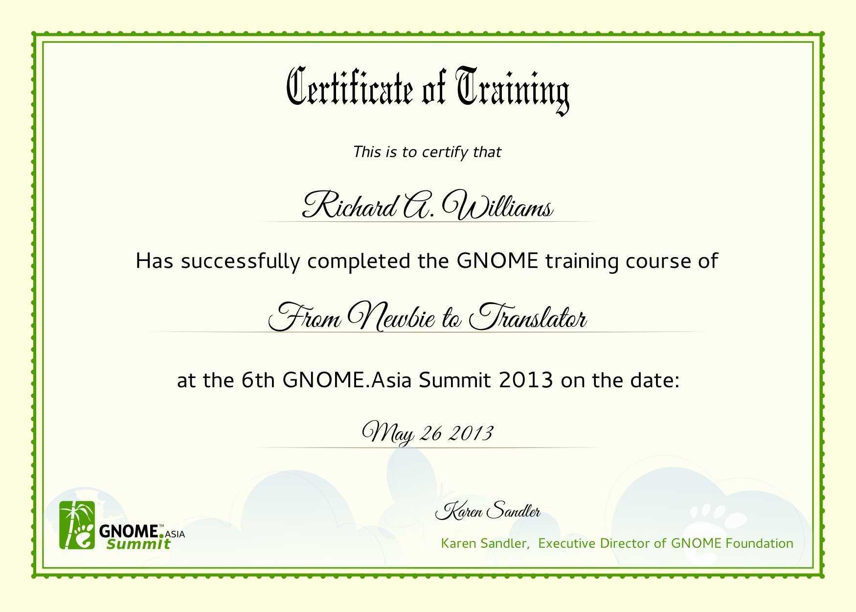 forklift template training certification card certificate sample