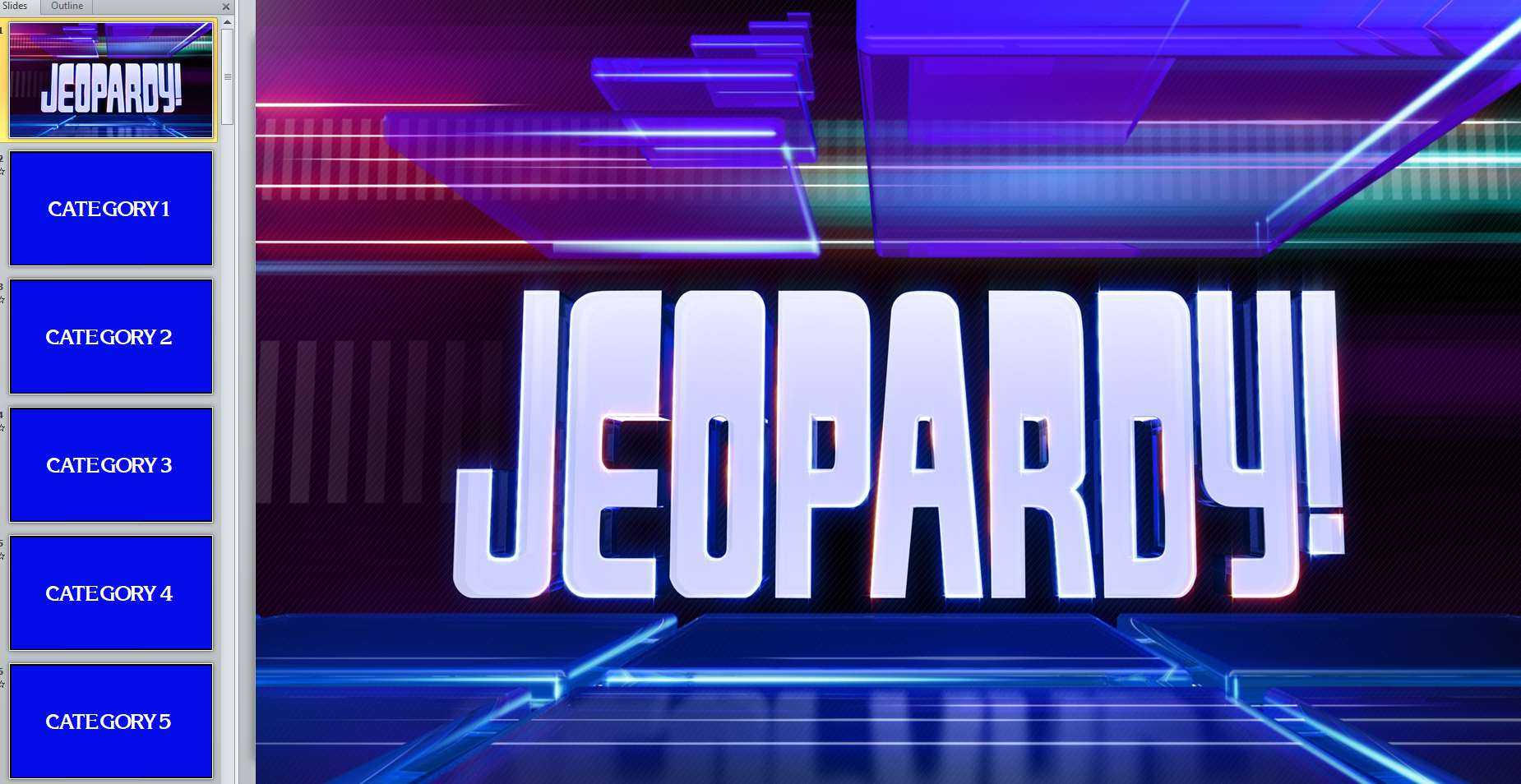 005 Jeopardy Powerpoint Template With Score Jeopardy2 With Jeopardy Powerpoint Template With Sound