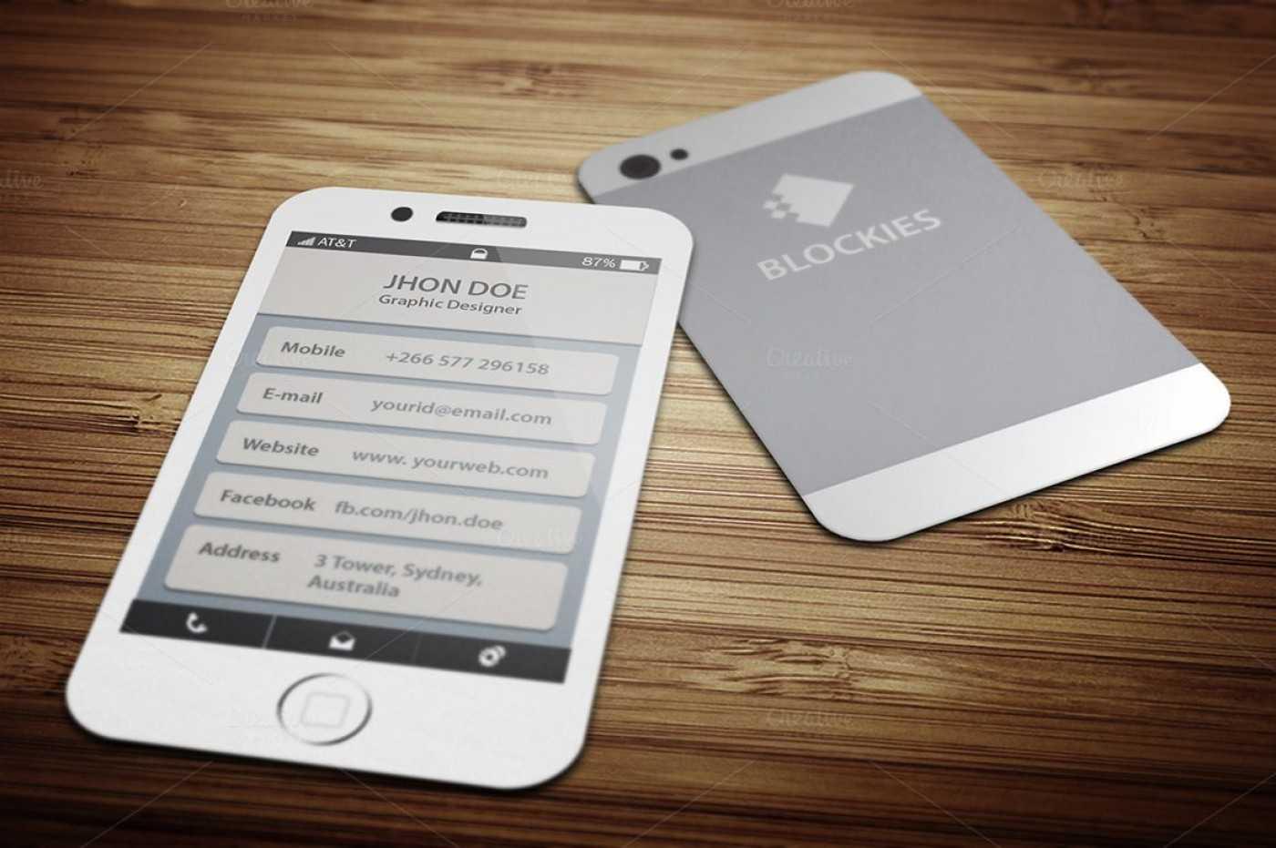 005 Template Ideas Iphone Business Unusual Card Free Psd Regarding Iphone Business Card Template