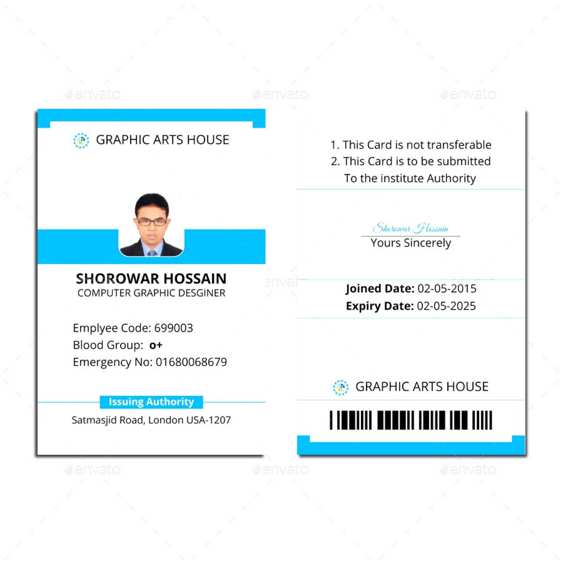 006 Id Card Template Word Ideas 1920X1920 Employee Microsoft Throughout Id Card Template Word Free