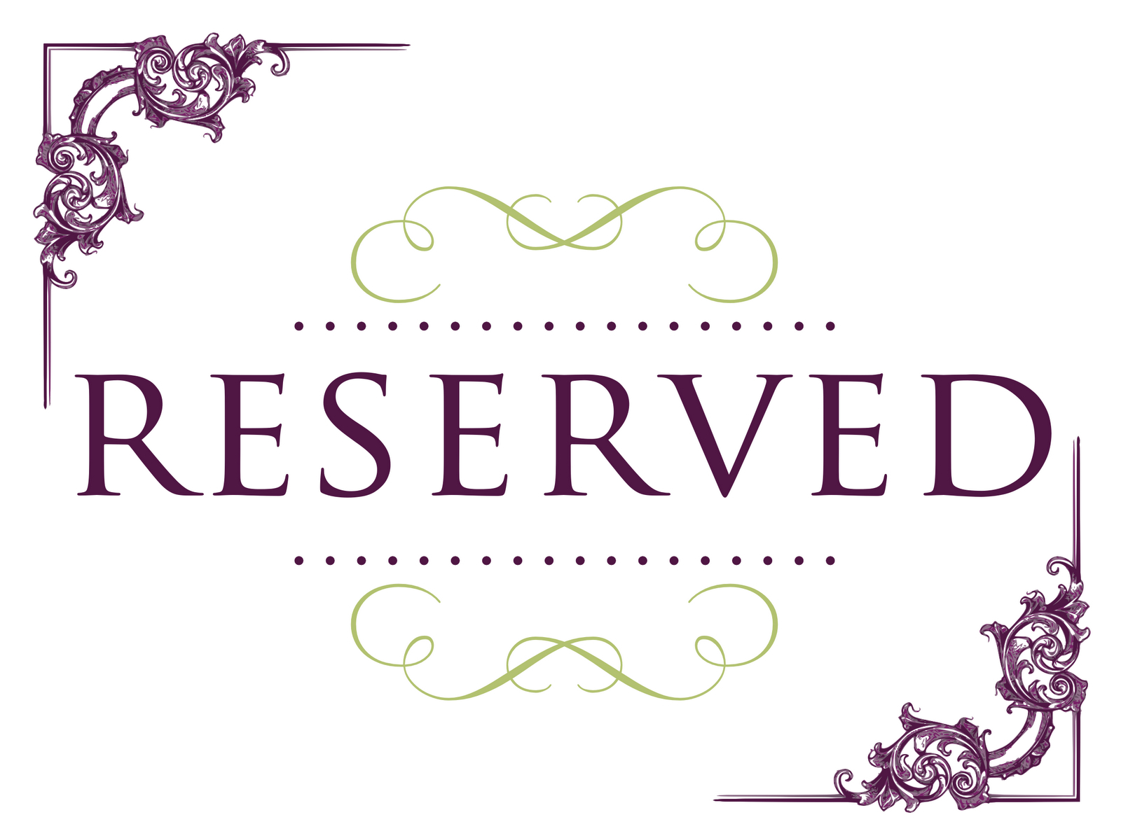 006 Reserved Sign Free Printable Table Signs Template Ideas Pertaining To Reserved Cards For Tables Templates