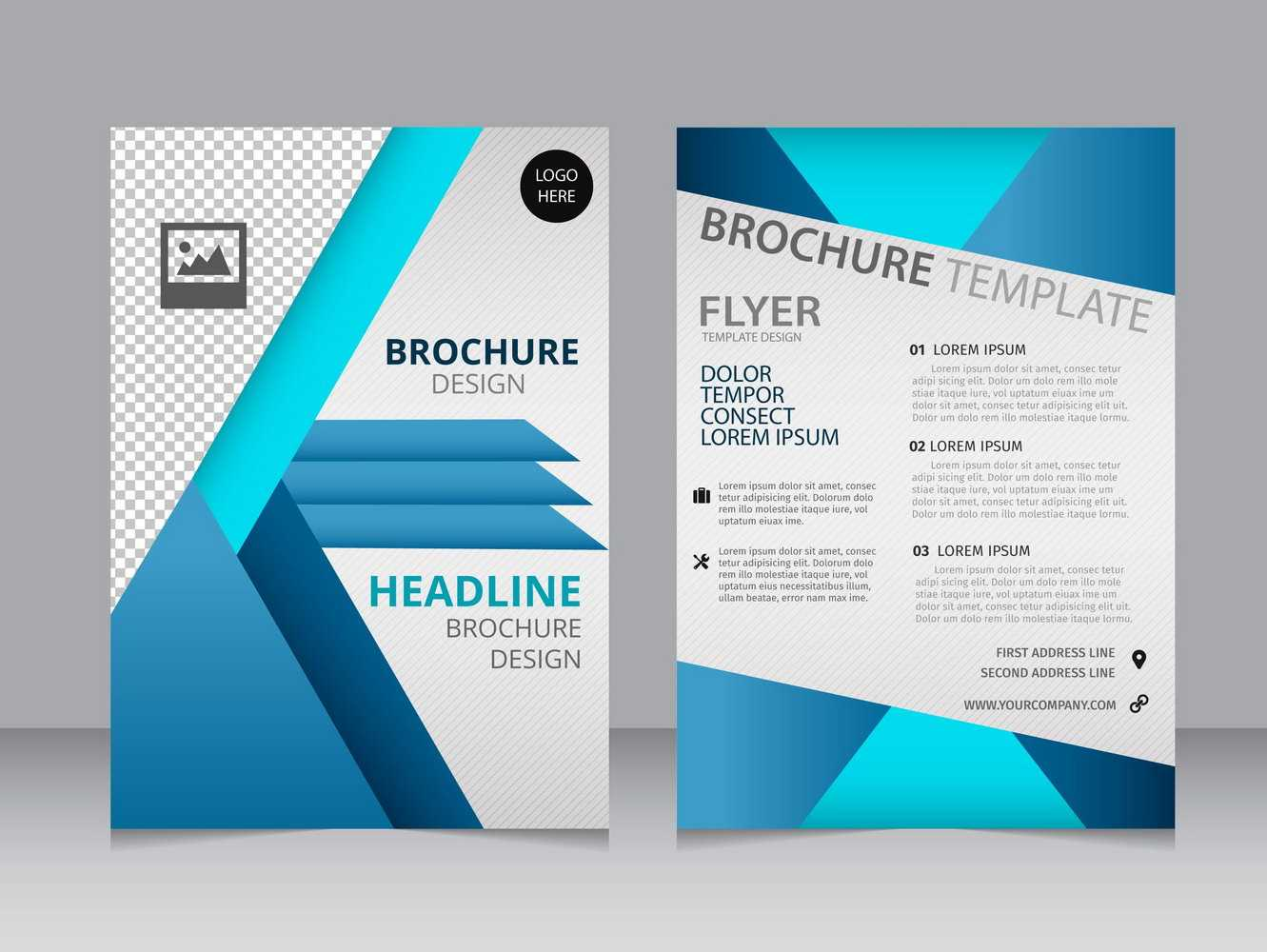 007 Blank Brochure Templates Free Download Word Template Intended For Free Illustrator Brochure Templates Download