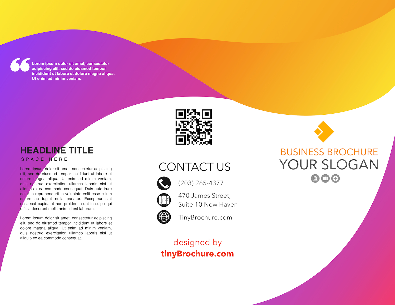 007 Blank Tri Fold Brochure Template Google Slides Docs Inside Tri Fold Brochure Template Google Docs