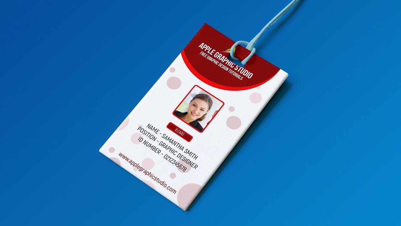 007 Employee Id Card Template Free Download Psd Ideas For Id Card Design Template Psd Free Download