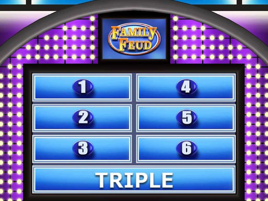 007 Family Feud Powerpoint Template Ideas Beautiful Throughout Family Feud Powerpoint Template Free Download