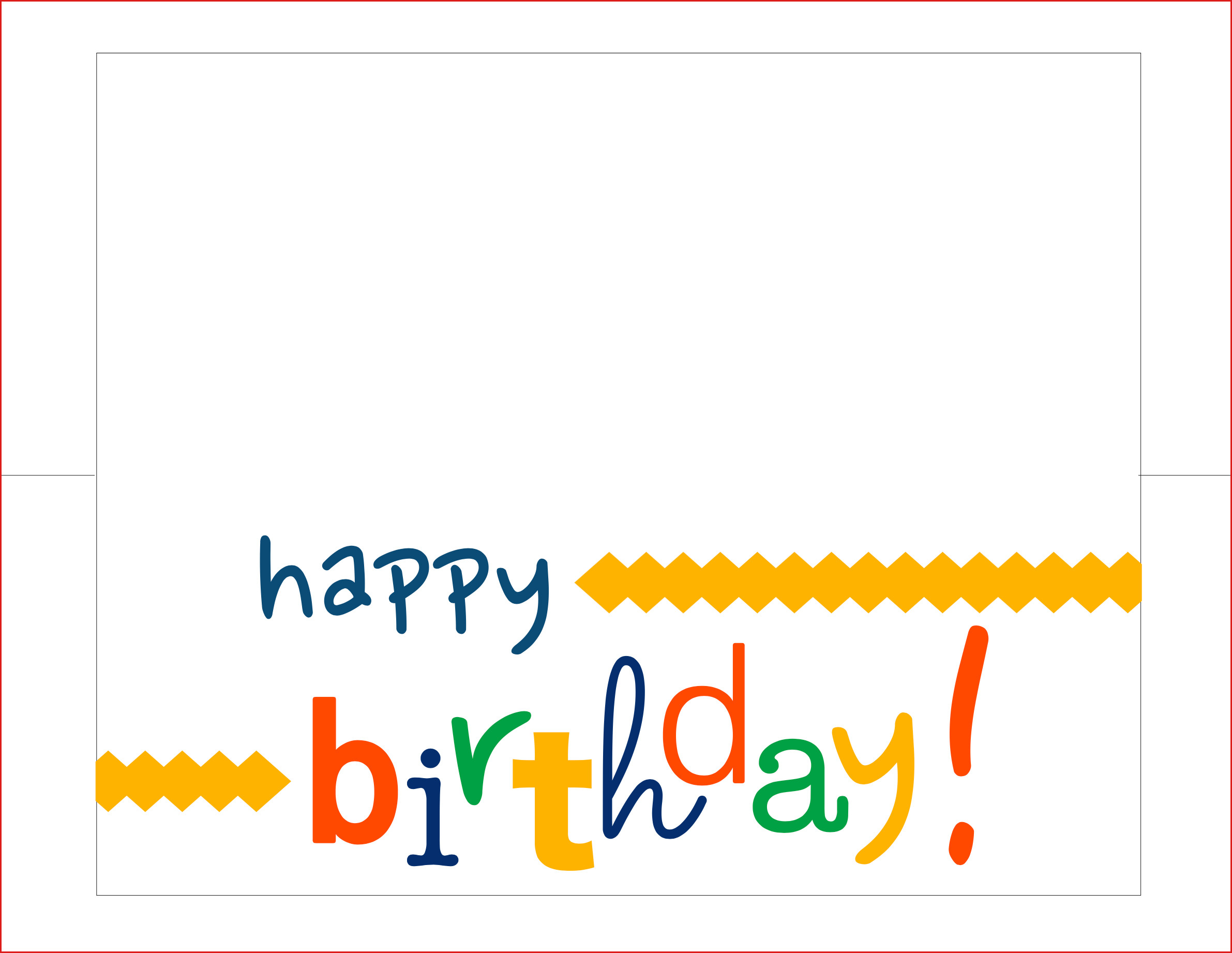 007 Printable Birthday Card Template Free Maker Online Happy Pertaining To Free Templates For Cards Print