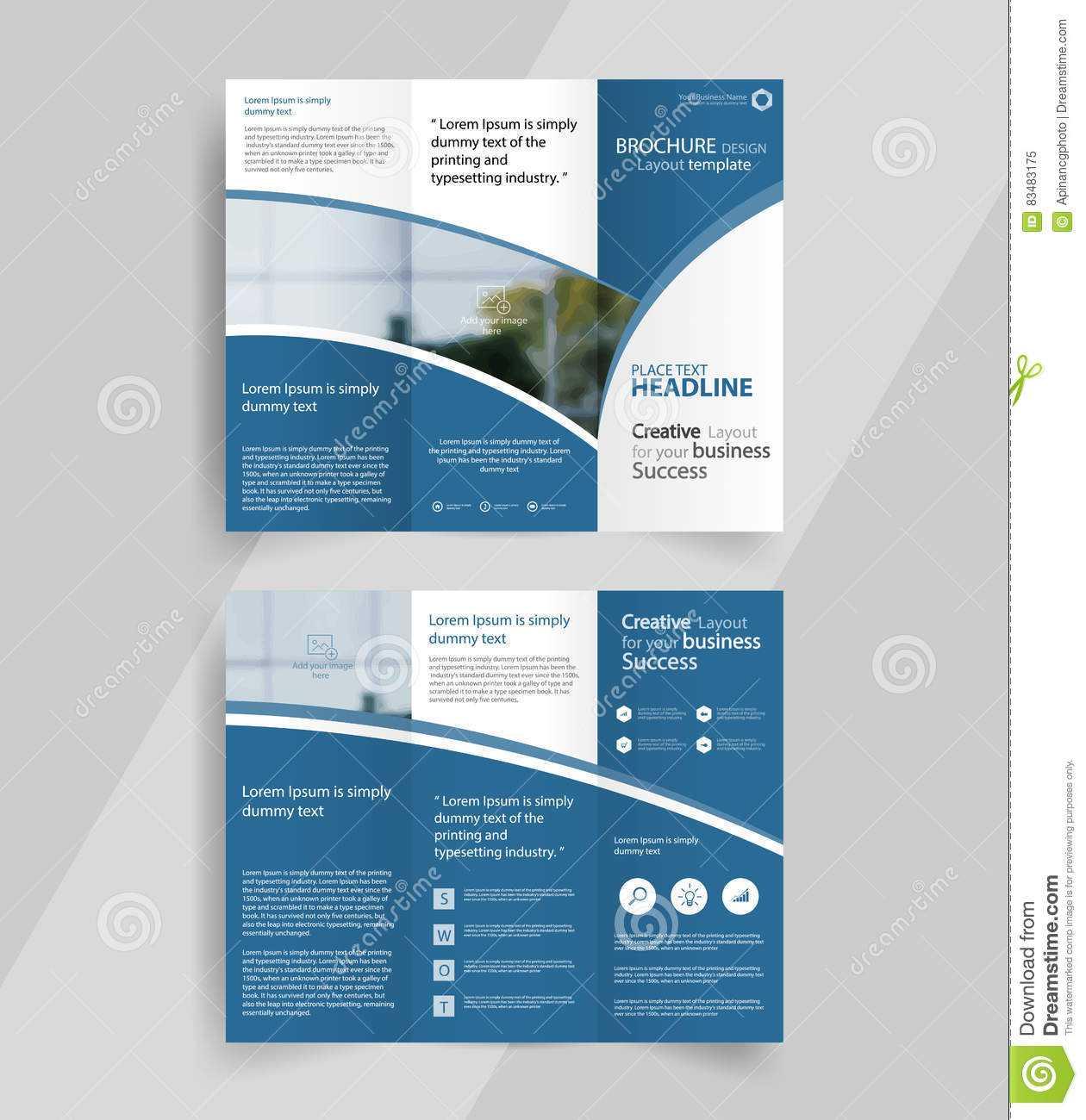 009 Tri Fold Brochure Template Free Download Ai Business Within Ai Brochure Templates Free Download