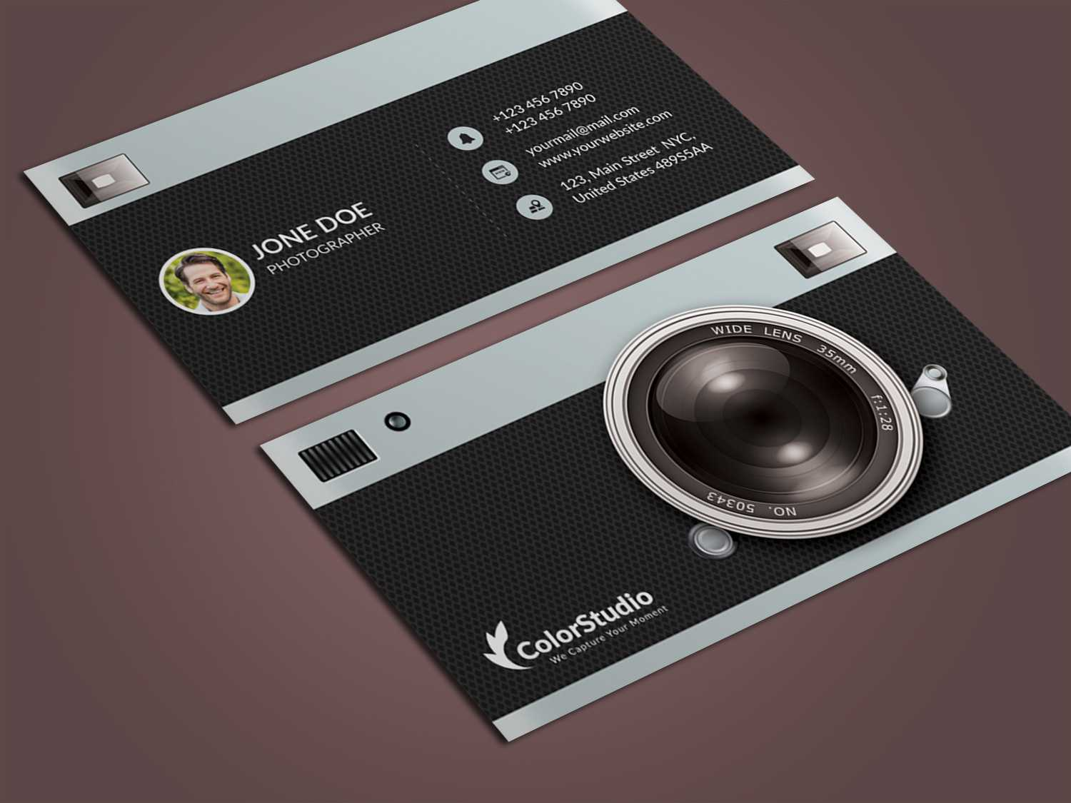 010 Template Ideas Pertaining To Photography Business Card Templates Free Download