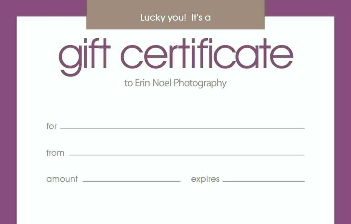 011 Free Printable Gift Certificate Templates For Word With Printable Gift Certificates Templates Free