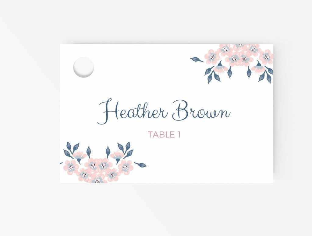 011 Table Name Cards Template Free Word Place Amazing Ideas Pertaining To Table Name Cards Template Free