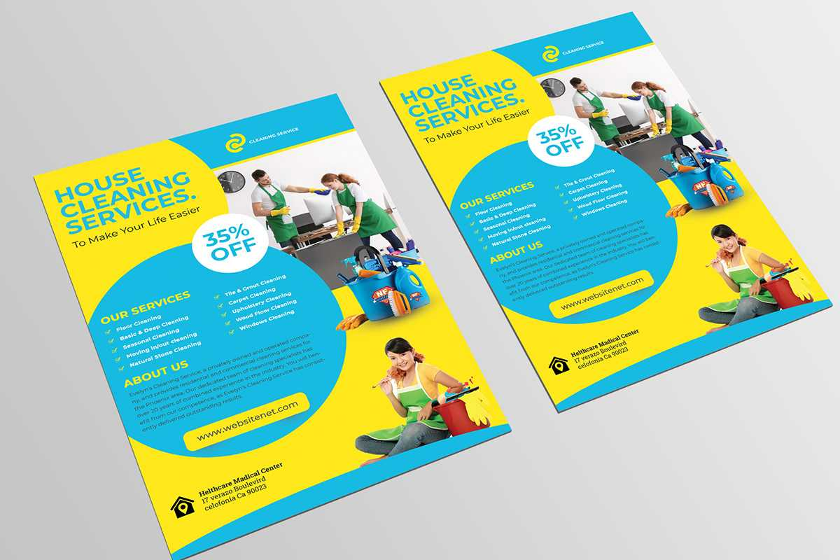 012 Template Ideas Cleaning Service Flyer Remarkable Design With Regard To Cleaning Brochure Templates Free