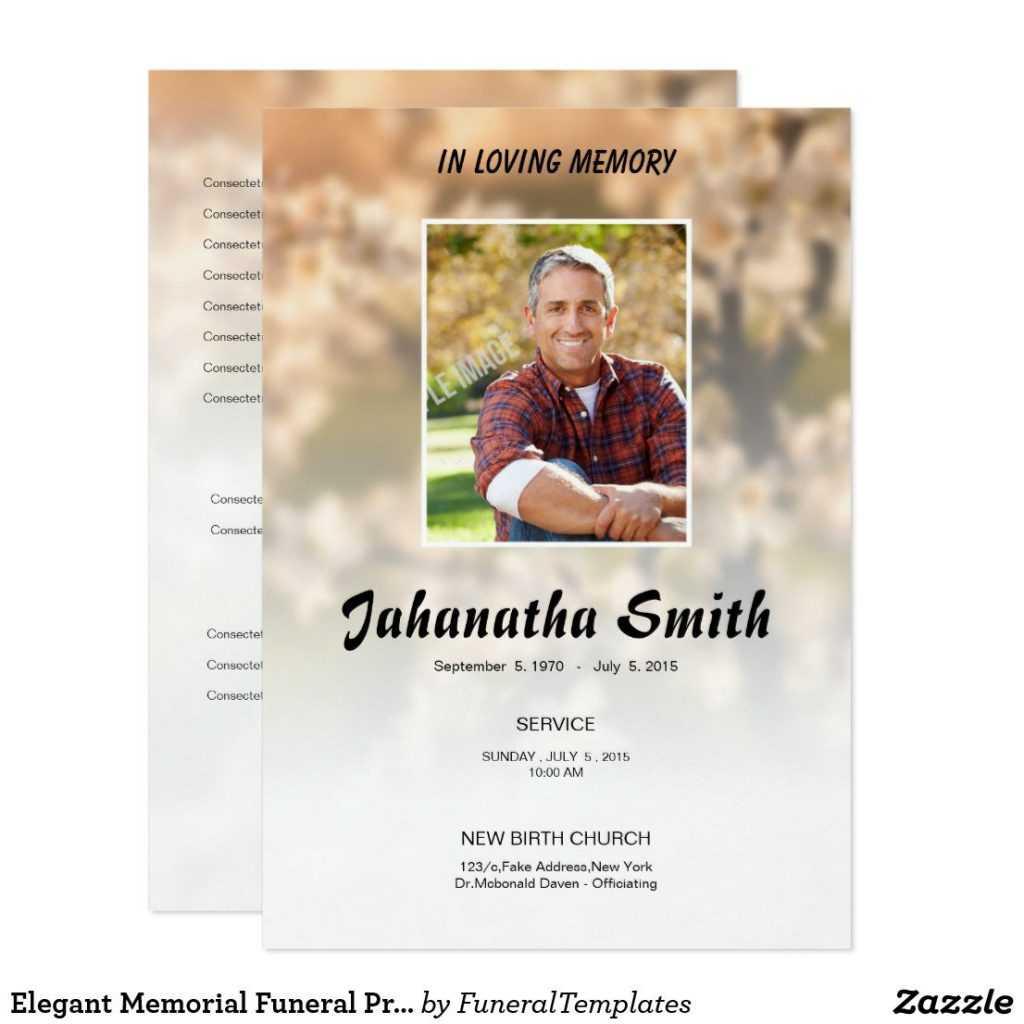 013 Free Memorial Cards Template Memorialard Templates For In Memorial Cards For Funeral Template Free