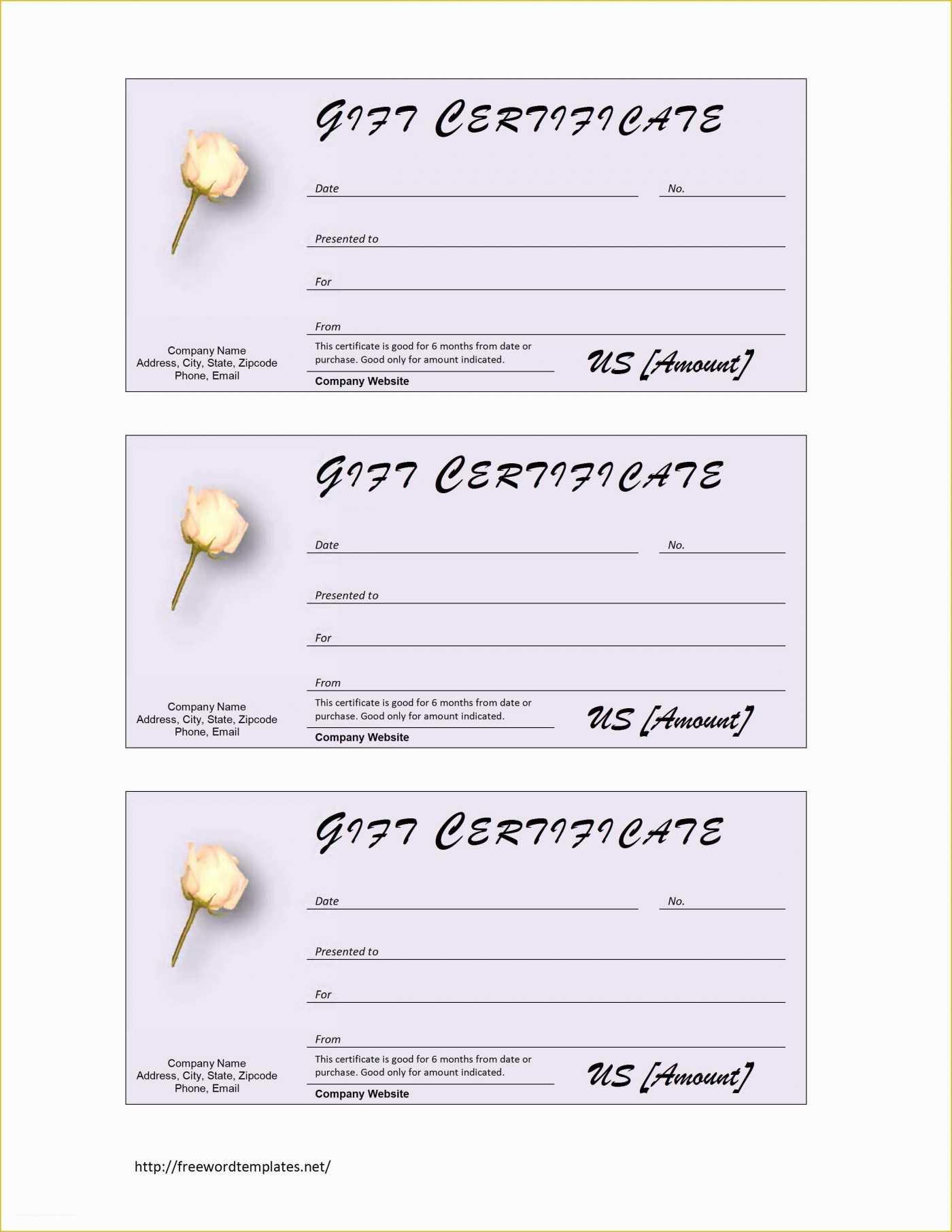 013 Free Printable Gift Certificates Pdf For Photography For Massage Gift Certificate Template Free Printable