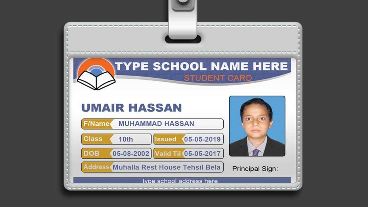 013 Id Card Template Psd Free Maxresdefault Fantastic Ideas For College Id Card Template Psd