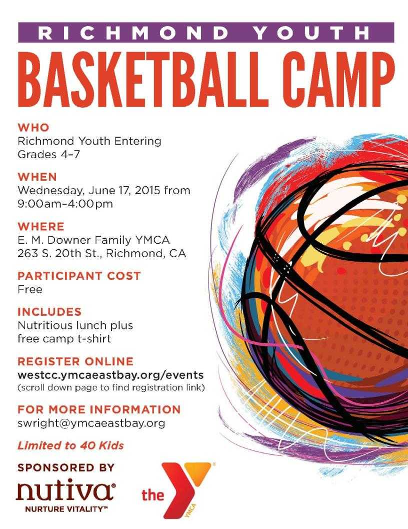 014 Basketball Camp Flyer Template Ideas Sports Beautiful With Basketball Camp Brochure Template