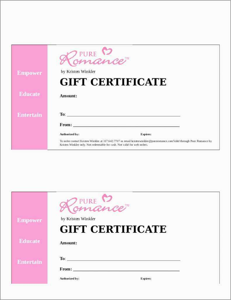 014 Printable Gift Certificates Templatesree Certificate Intended For Massage Gift Certificate Template Free Download