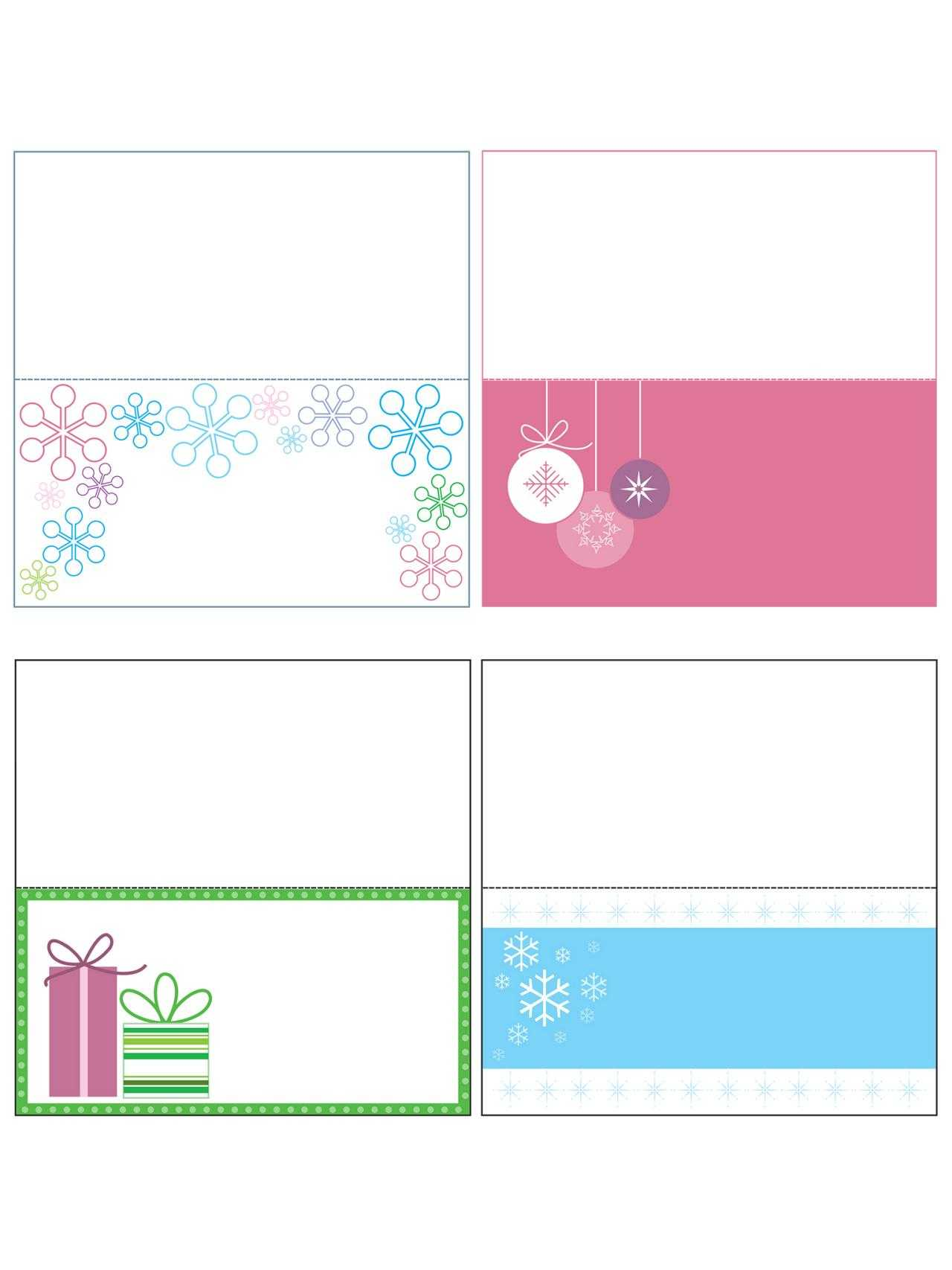 015 Free Printable Card Templates Template Incredible Ideas Within Free Printable Tent Card Template