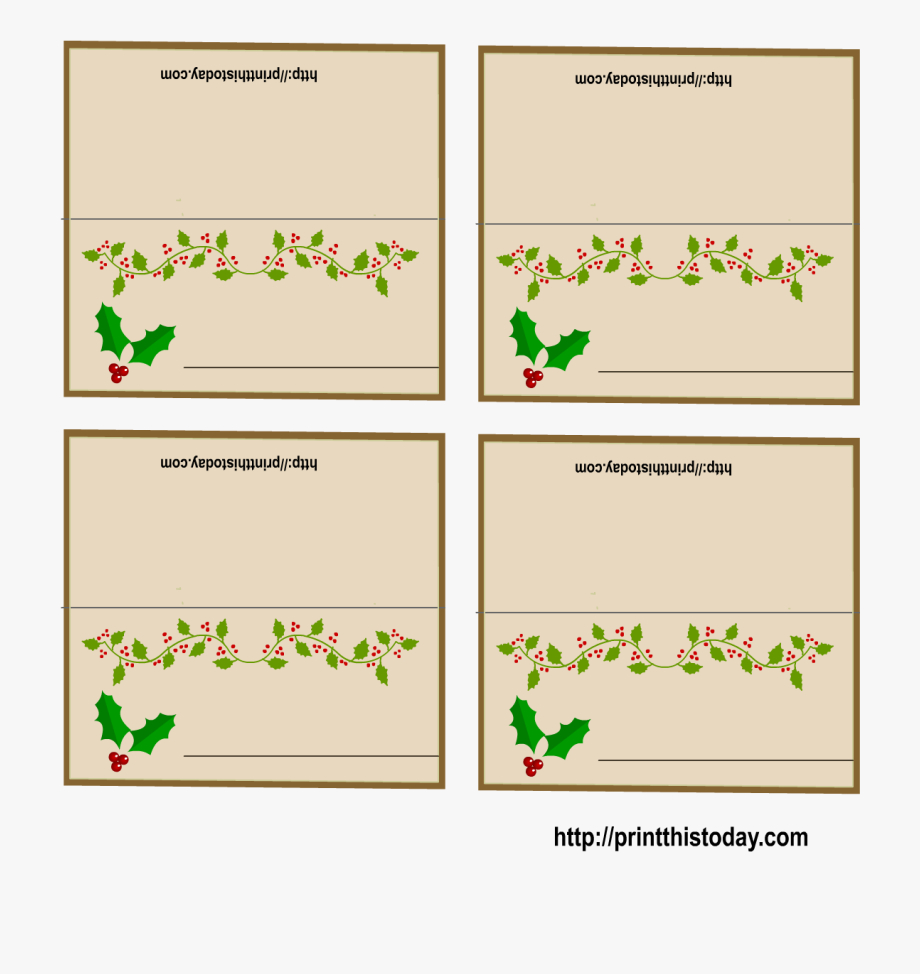 016 Christmas Table Name Place Cards Template Ideas 4545967 With Regard To Christmas Table Place Cards Template