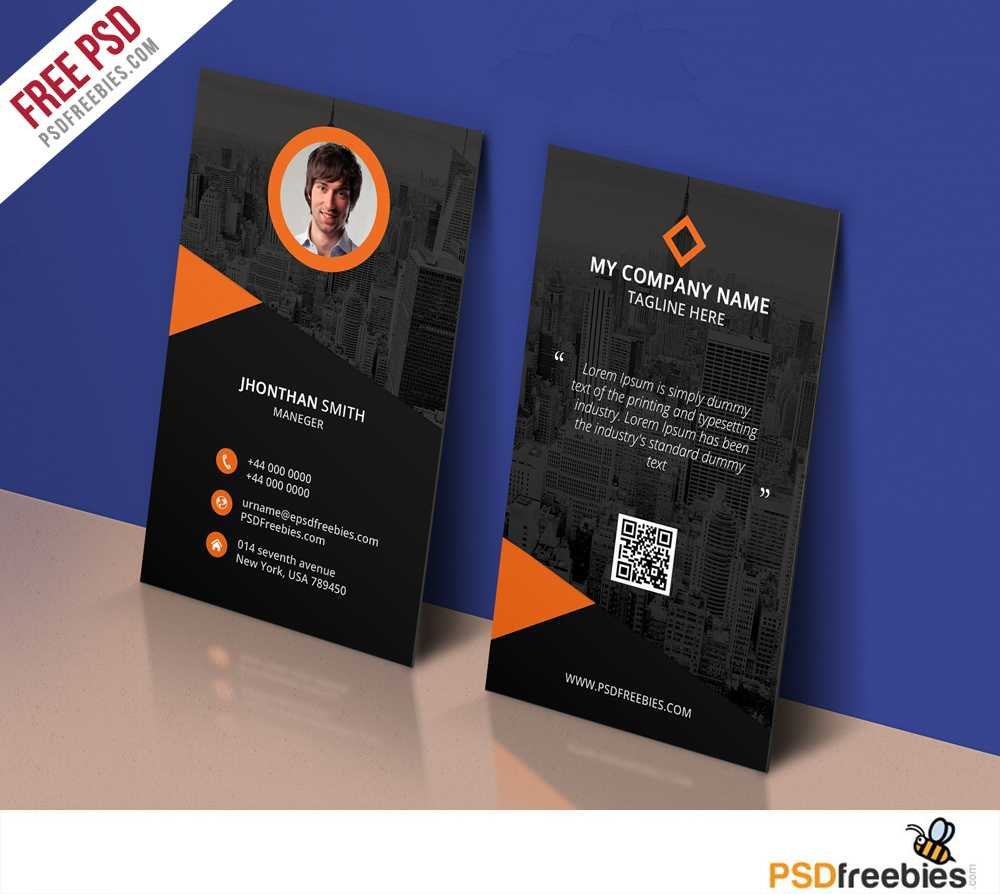 017 Personal Business Cards Template Modern Corporate Card In Free Personal Business Card Templates