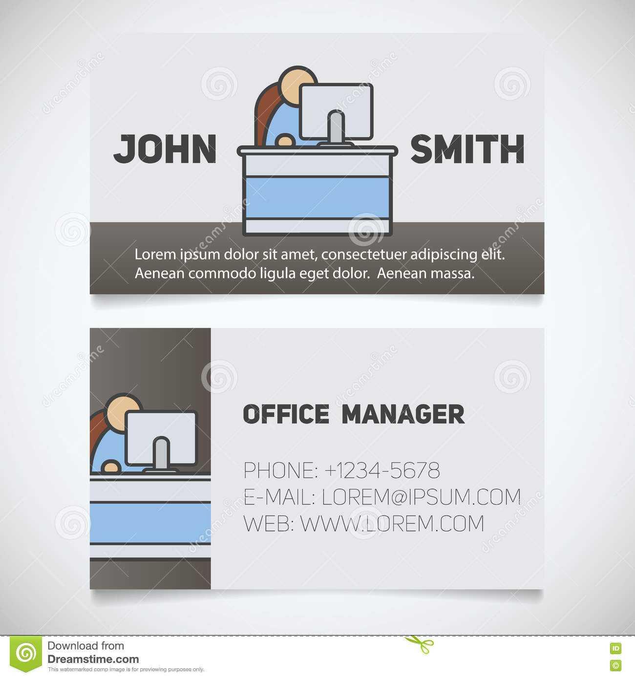 017 Template Ideas Business Card Print Office Manager Logo With Office Max Business Card Template