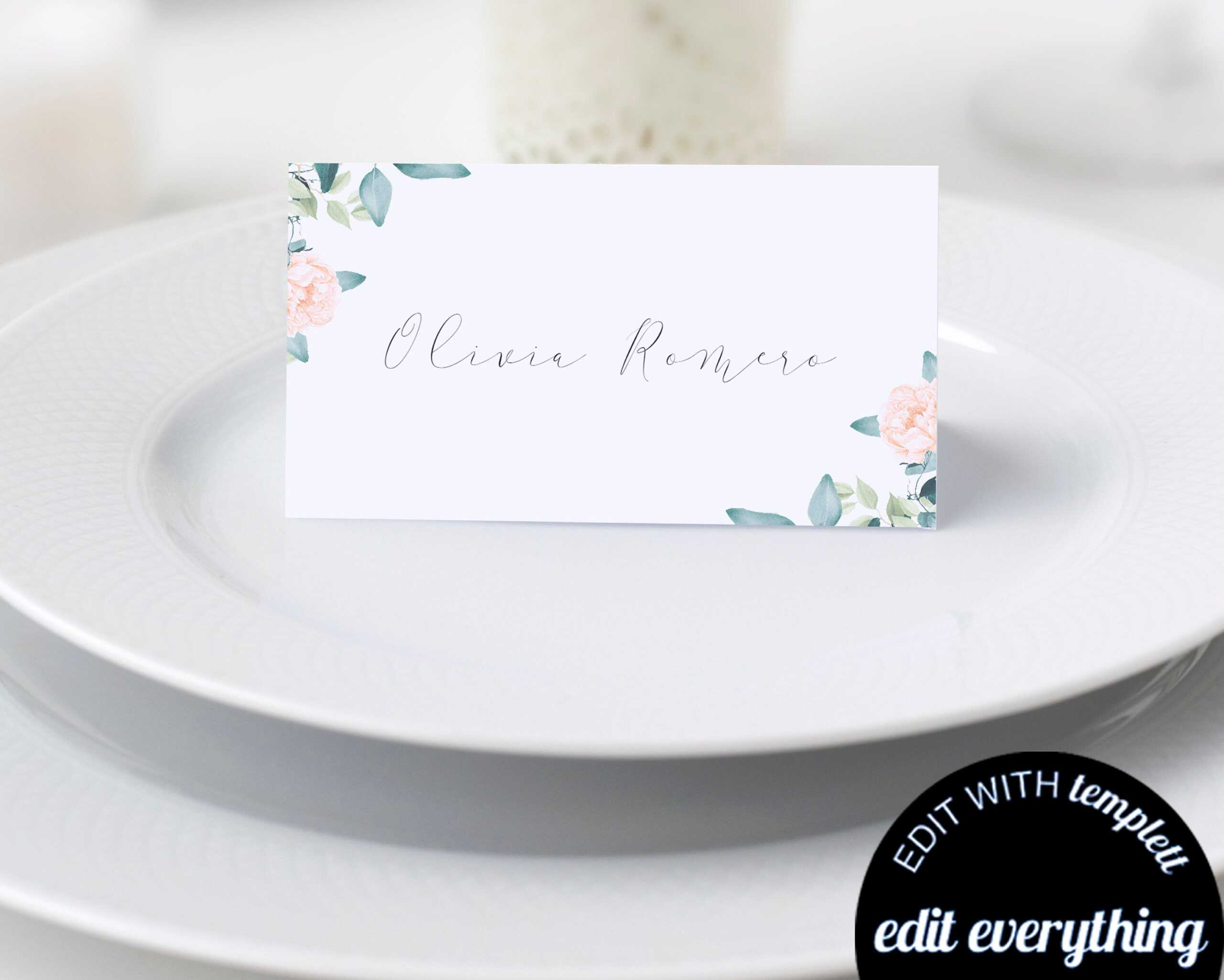 019 Template For Place Cards Il Fullxfull 1542140750 Dg3V In Place Card Template Free 6 Per Page