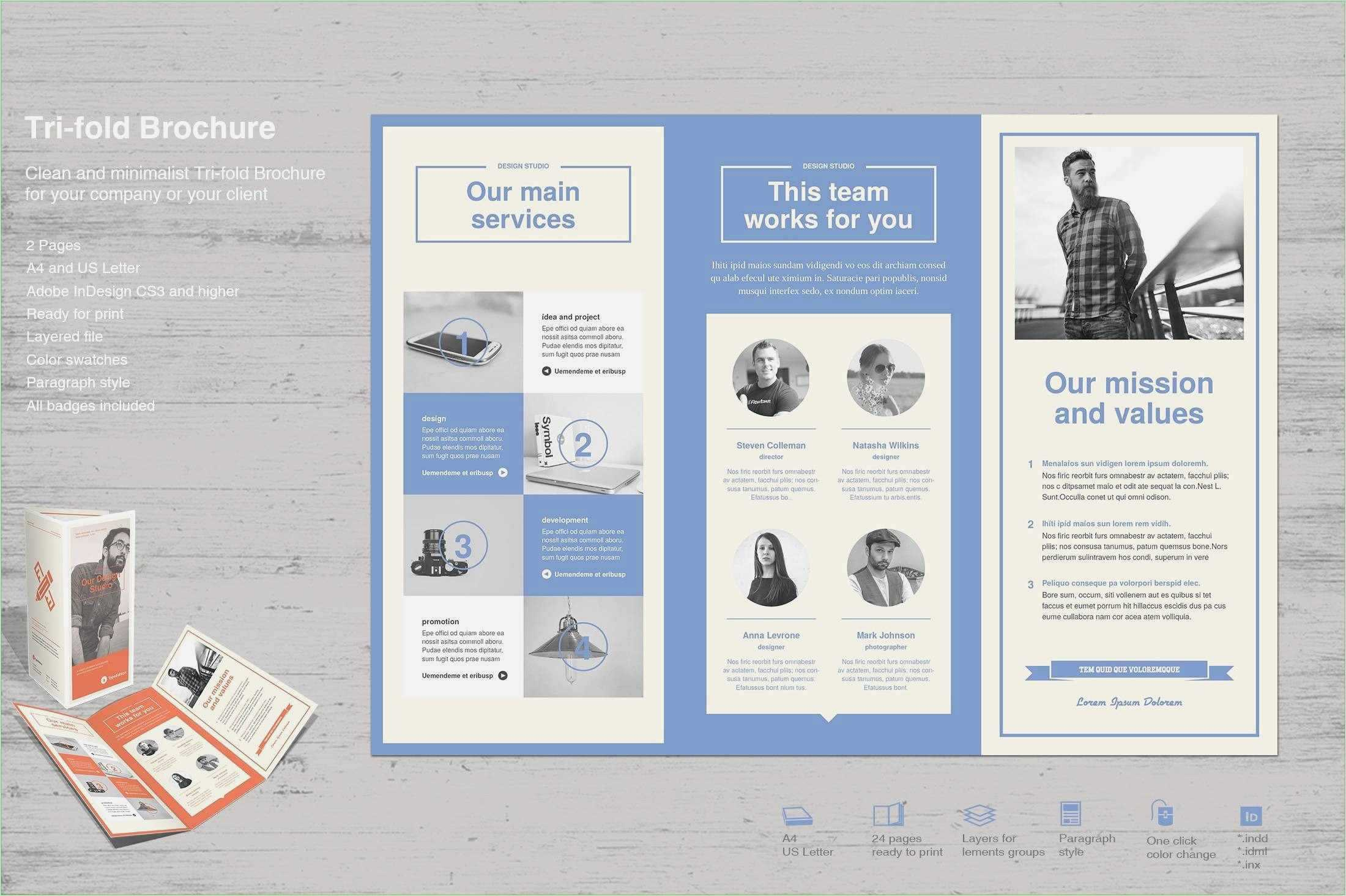 019 Template Ideas Free Blank Tri Fold Brochure Publisher For Tri Fold Brochure Publisher Template