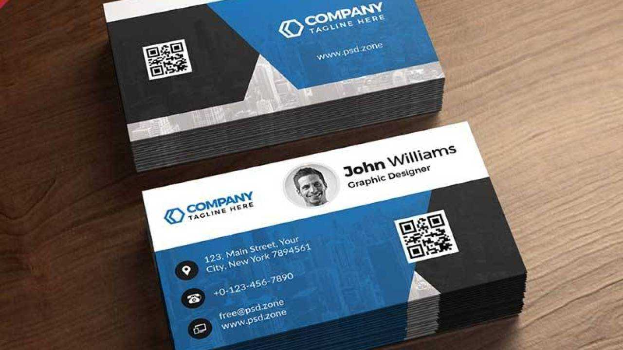 021 Free Business Card Psd Template Pertaining To Visiting Card Psd Template