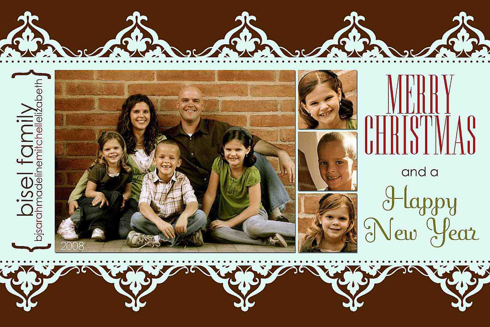 024 Milk And Honey Designs Free Christmas Card Templates Pertaining To Free Christmas Card Templates For Photographers