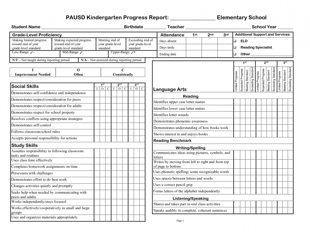 025 High School Report Card Template Free Ideas 20Homeschool Throughout Middle School Report Card Template