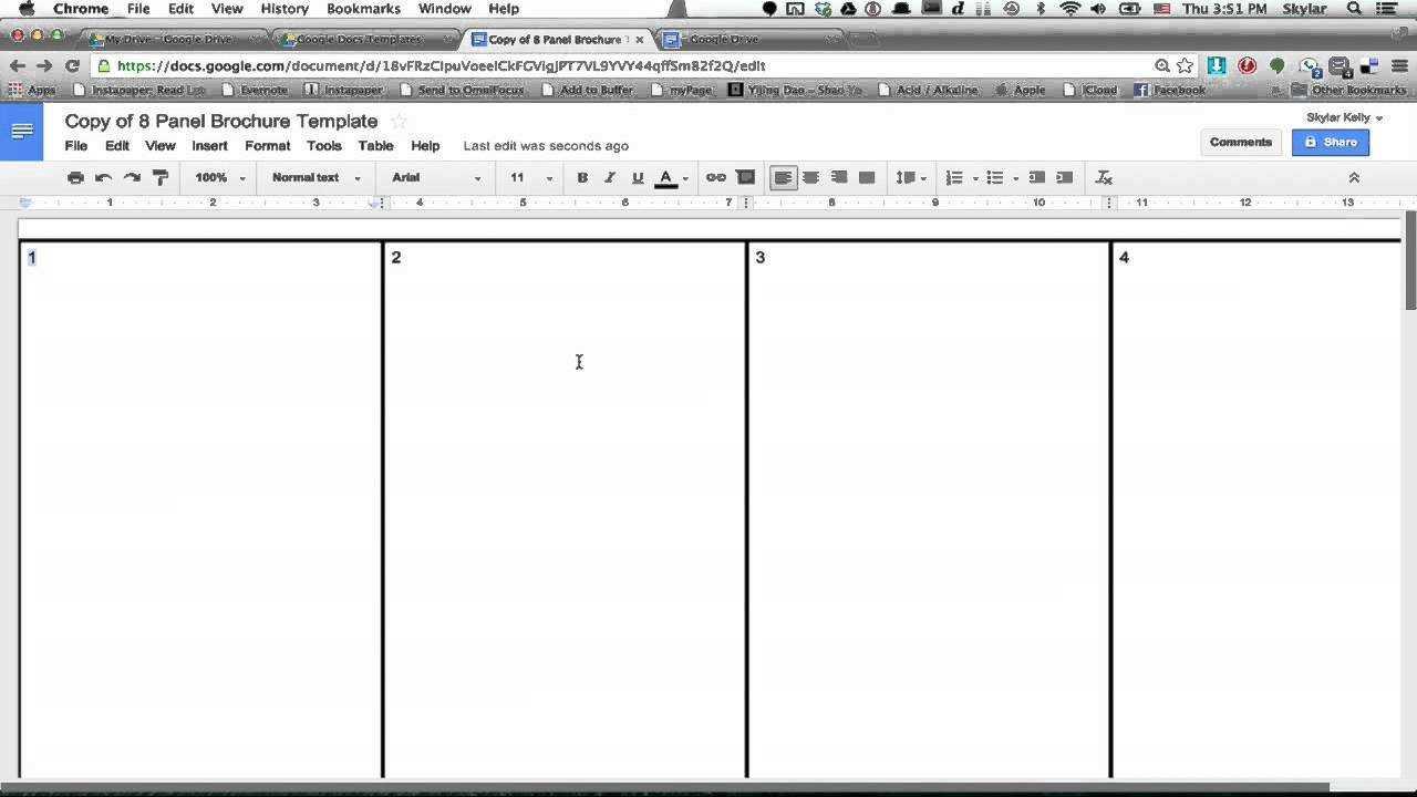 026 Brochure Templates Google Drive Tri Fold Template For Google Drive Brochure Template
