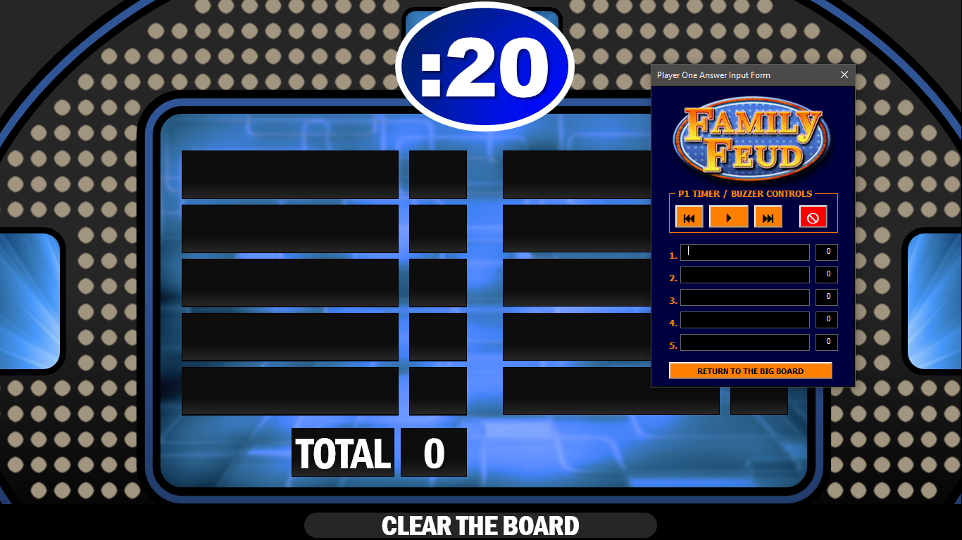 026 Family Feud Game Template Ideas Powerpoint Templates Intended For Family Feud Game Template Powerpoint Free