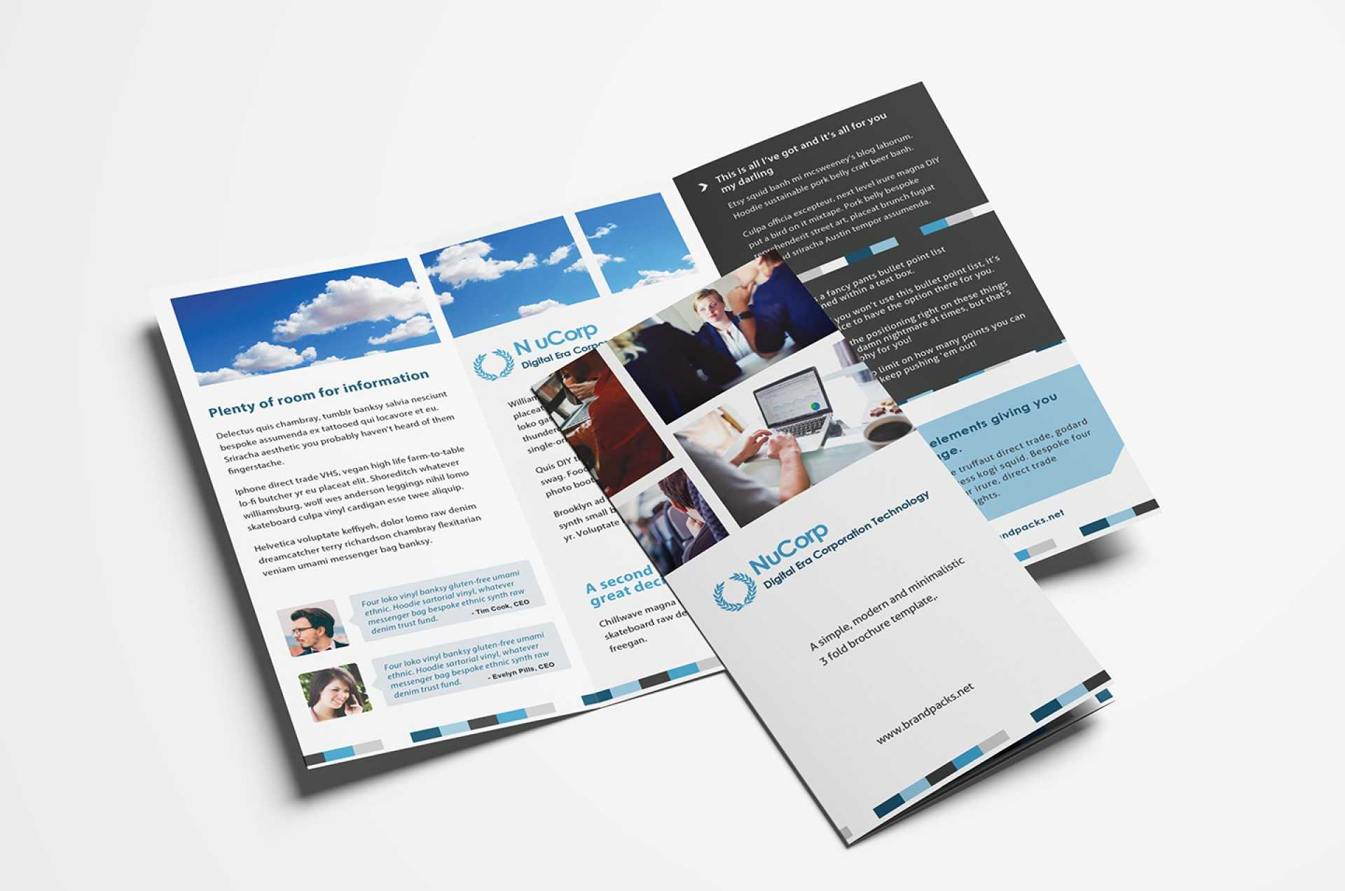 033 Free Tri Fold Brochure Templates In Psd Vector For Adobe Tri Fold Brochure Template