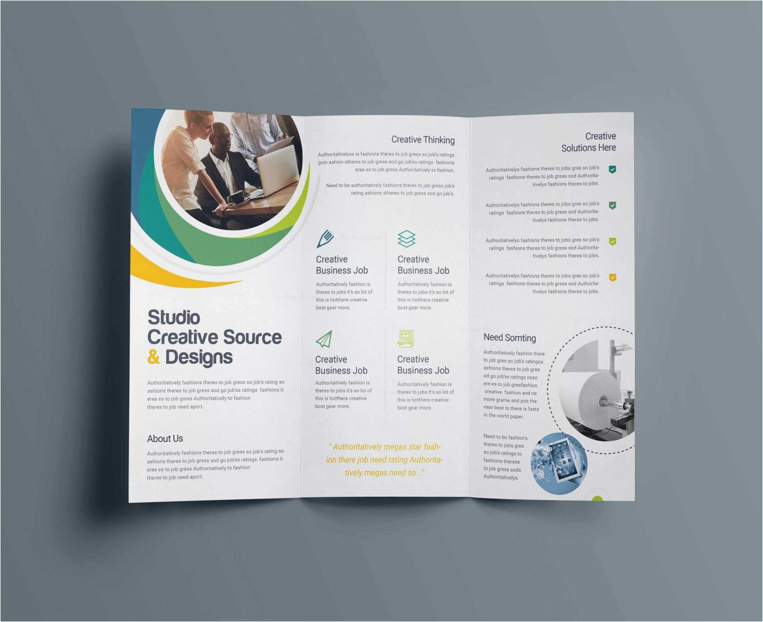034 Brochure Templates Free Download Publisher Template In Brochure Templates For Word 2007