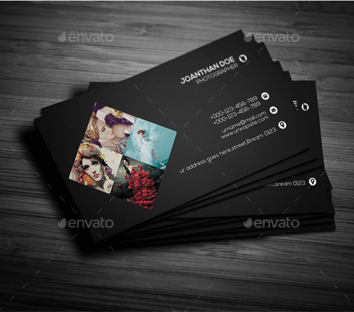 036 Free Business Card Templates Psd Top Mockup In Colorlib Pertaining To Free Business Card Templates For Photographers