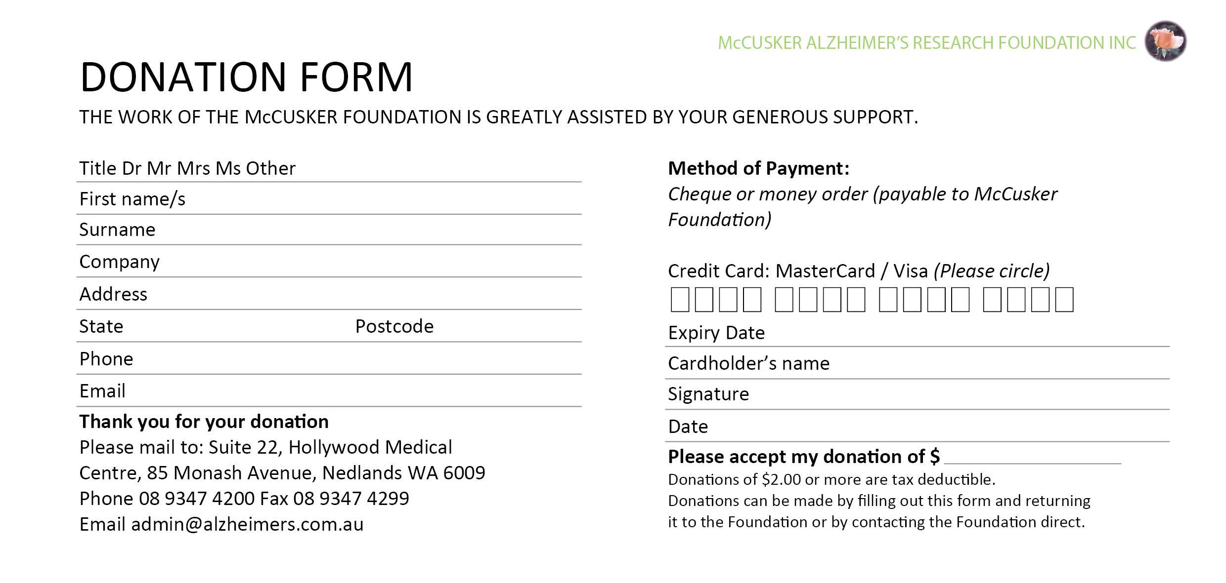 037 Fundraising Request Form Template Card Donation 458179 Regarding Donation Card Template Free