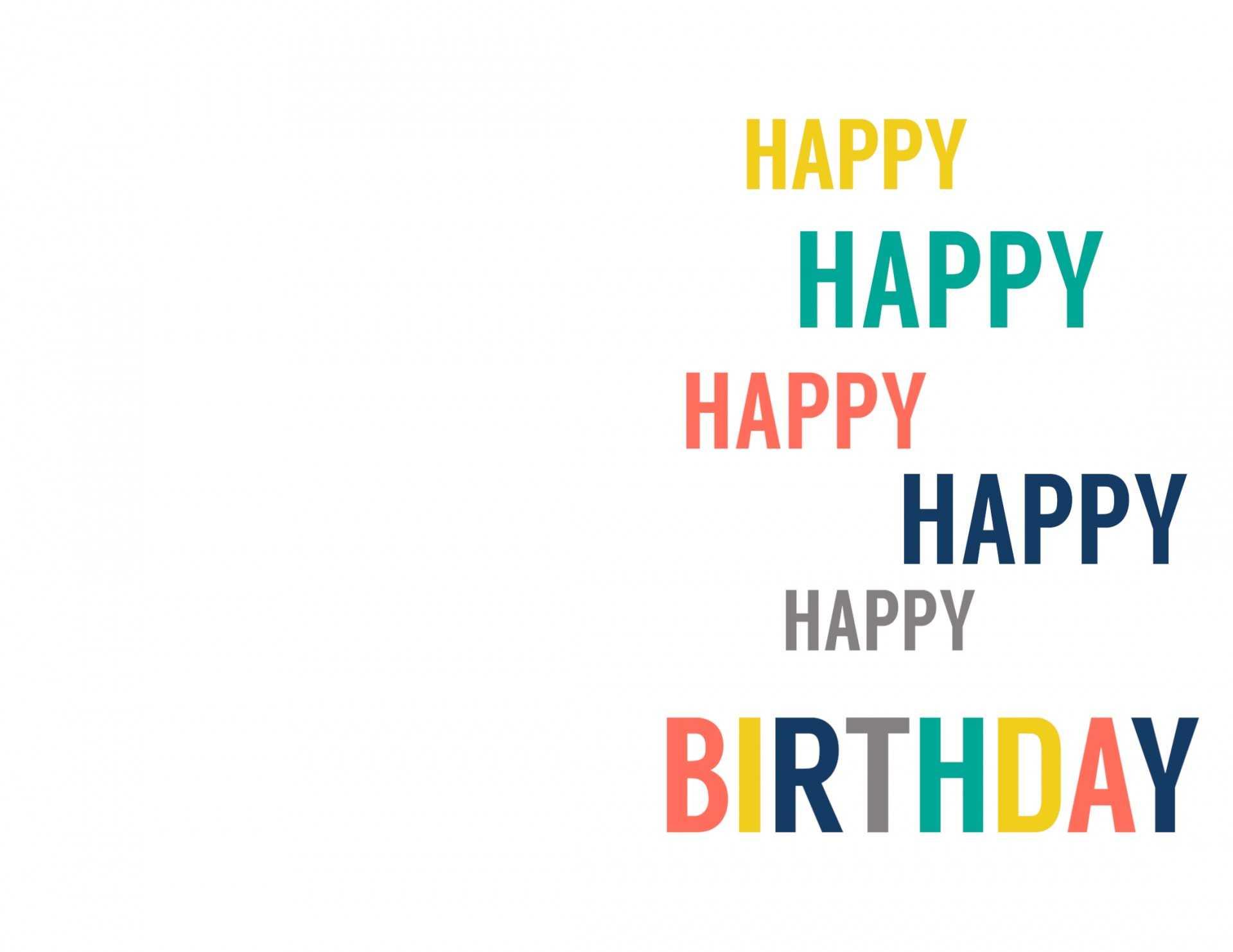 039 Printable Birthday Card Template Free Greeting Cards Pertaining To Foldable Birthday Card Template
